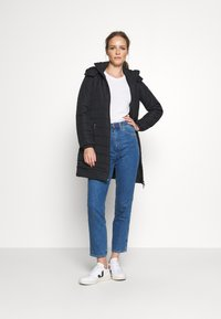 Armani Exchange - CABAN COAT - Classic coat - black - 1