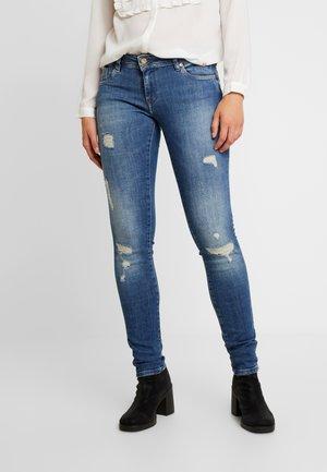 LOKA - Slim fit jeans - blue denim