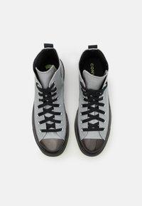 Converse - CHUCK TAYLOR ALL STAR UNISEX - High-top trainers - ash stone/black/lemon - 3