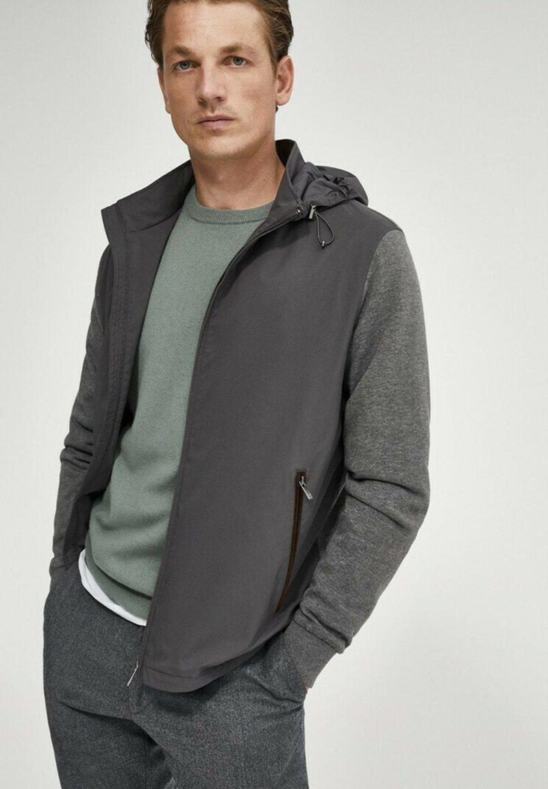 Massimo Dutti - Light jacket - grey