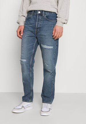 RIP AND REPAIR DAD - Straight leg jeans - blue