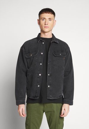 ICHASE JACKET - Giacca di jeans - black denim