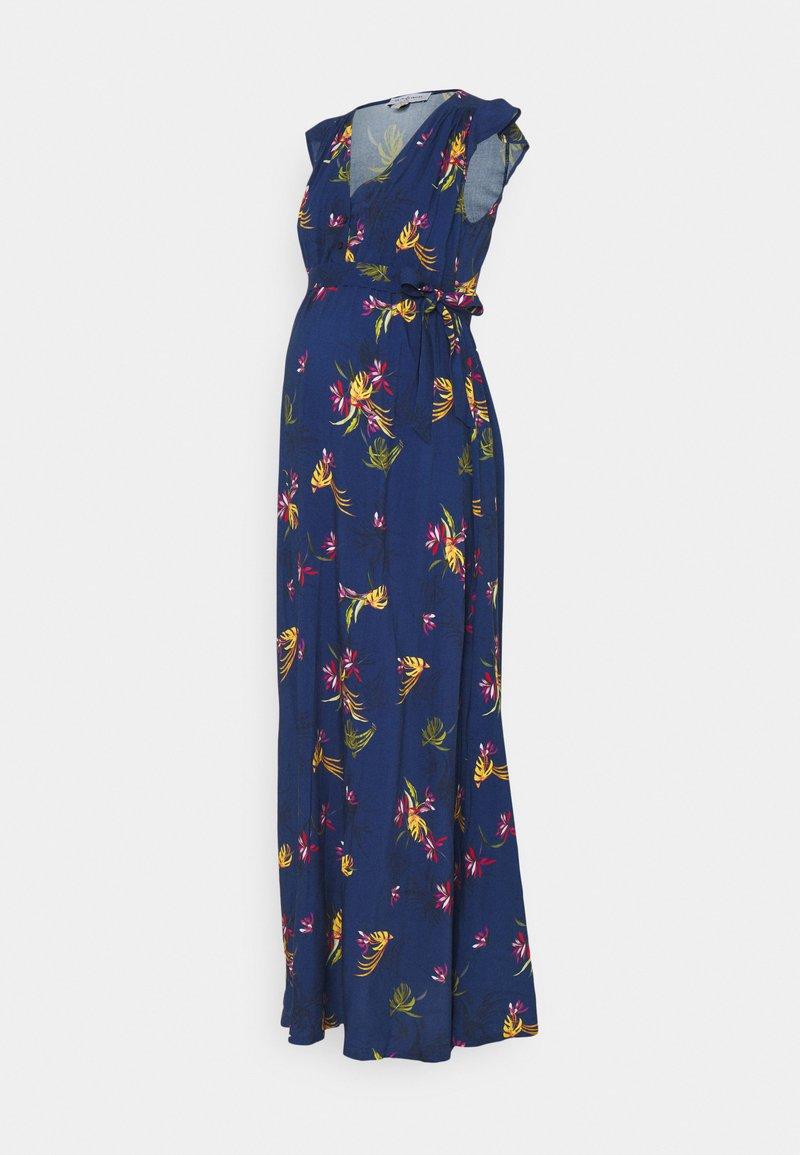Envie de Fraise - MARGUERITE - Maxi-jurk - navy blue/multicolour