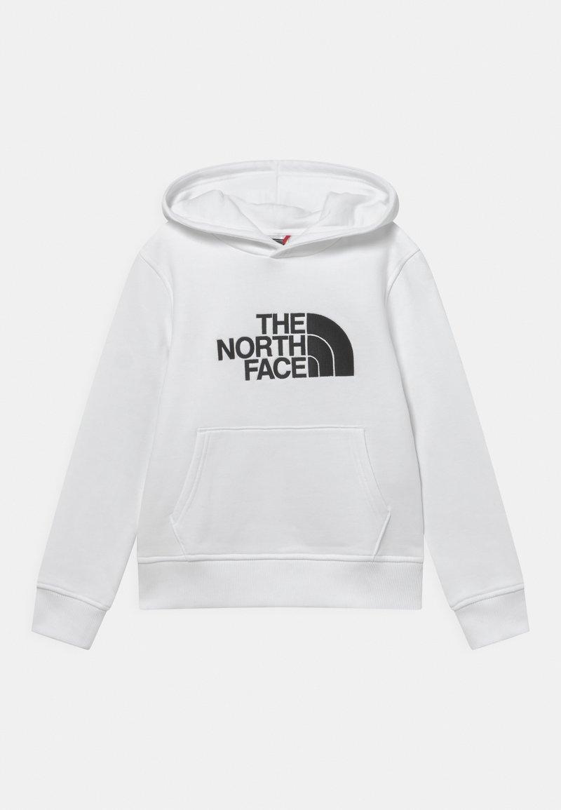 The North Face - DREW PEAK HOODIE UNISEX - Sweat à capuche - white/black