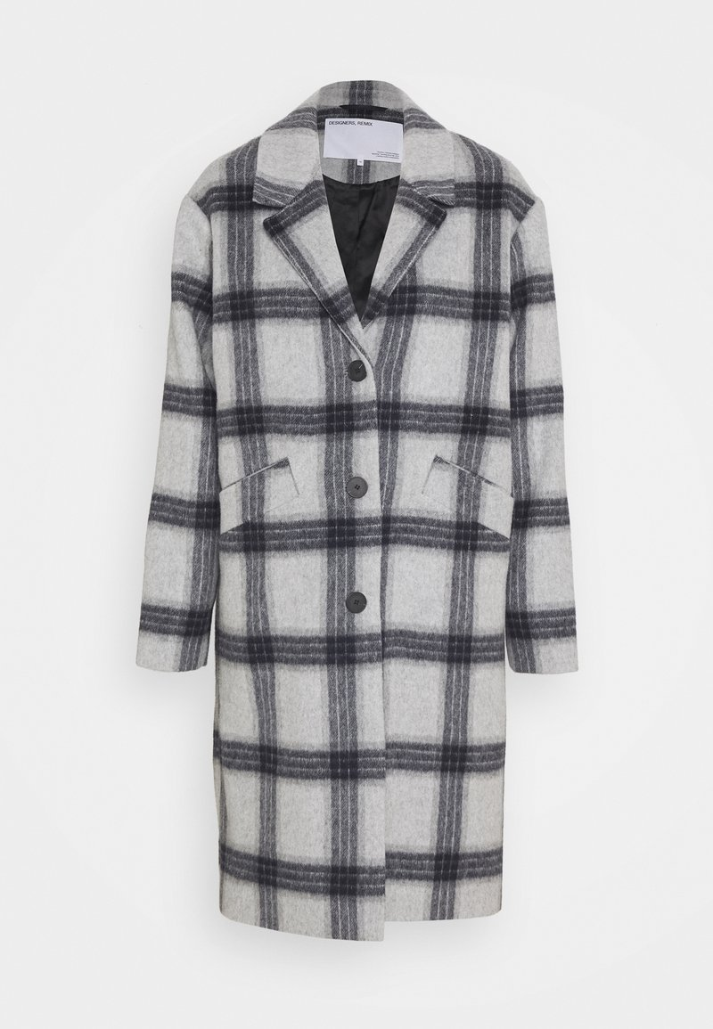 DESIGNERS REMIX - AMARA COAT - Classic coat - grey