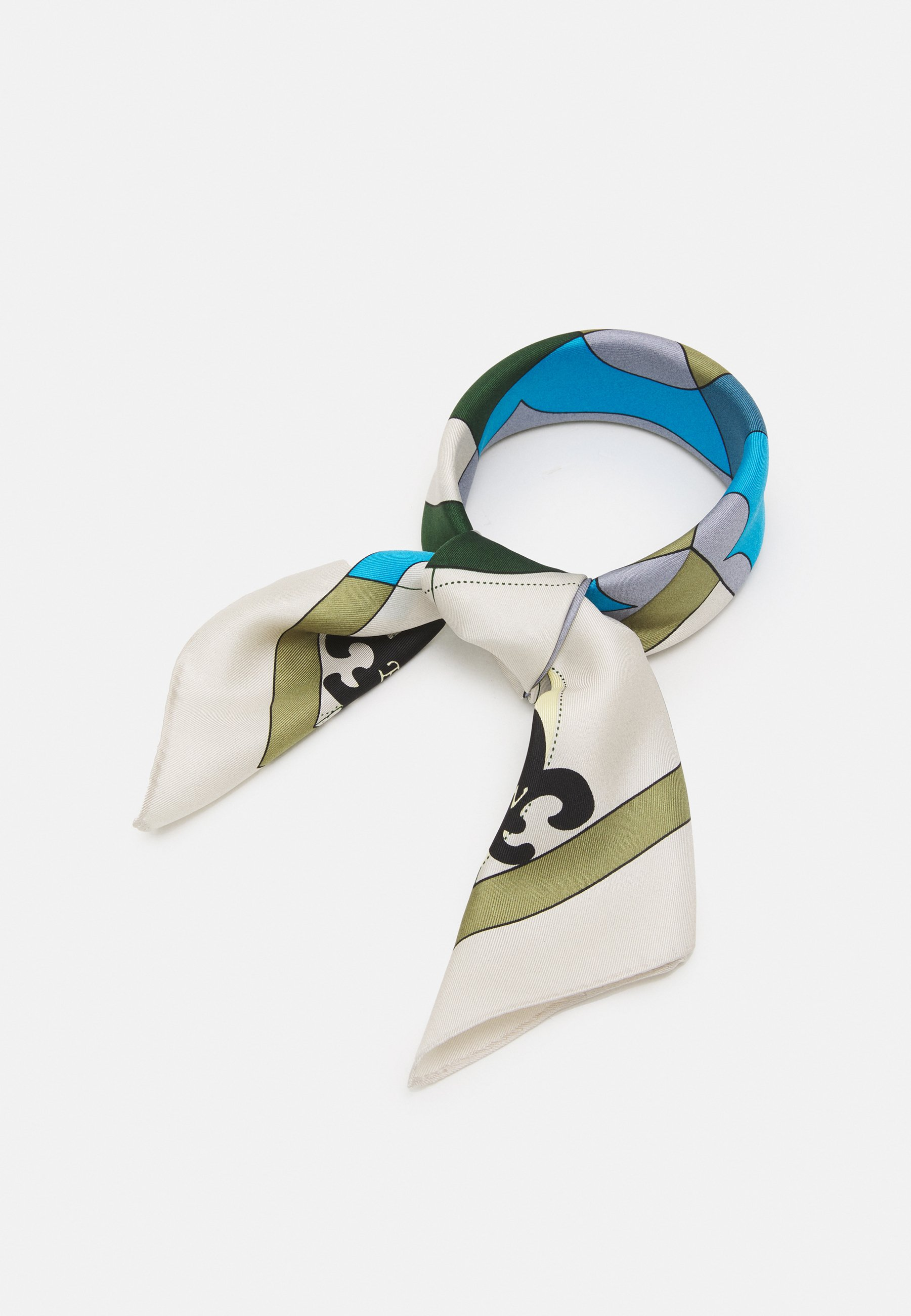 Femme COMPASS NECKERCHIEF WITH CHARMS - Foulard