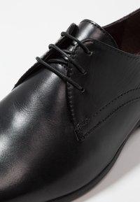Burton Menswear London - SAMPSON DERBY - Business sko - black - 5