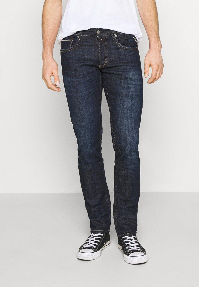 Replay - GROVER - Straight leg -farkut - dark blue