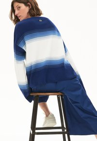 Lacoste - LACOSTE - DAMEN PULLI-AF6462 - Sweter - navy blau / blau / weiß - 2