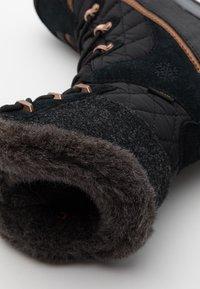 Jack Wolfskin - ASPEN TEXAPORE HIGH  - Winter boots - black/dark grey - 5