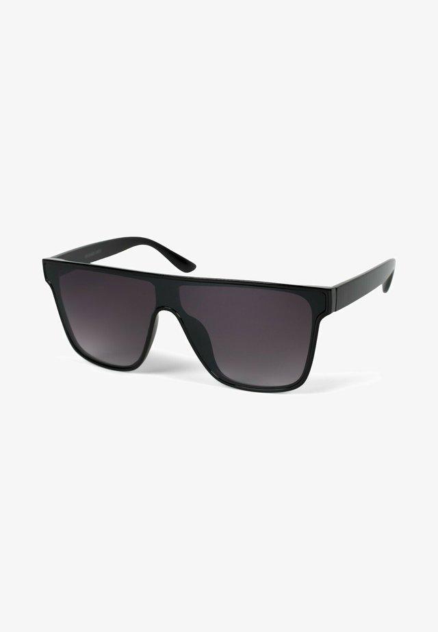 Sunglasses - gestell schwarz / glas grau verlauf