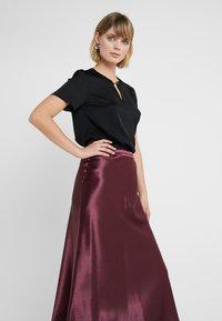 HUGO - RACELA - A-line skirt - medium red - 3