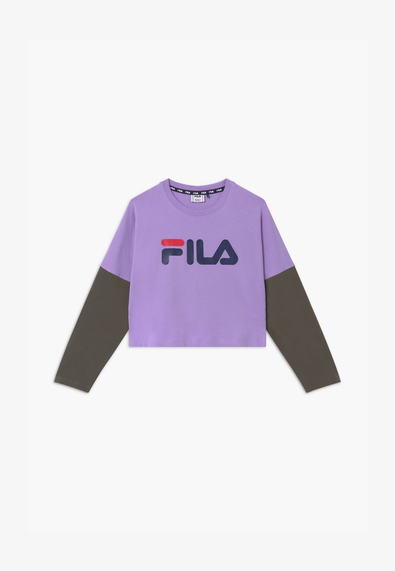 Fila - BEA  - T-shirt à manches longues - sand verbena/grape leaf