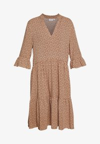 Saint Tropez - EDA DRESS - Korte jurk - tan/pebbles - 4