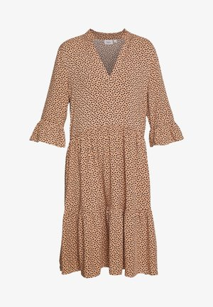 EDA DRESS - Vestido largo - tan/pebbles