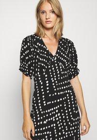 Diane von Furstenberg - ORLA DRESS - Maxi dress - black - 4