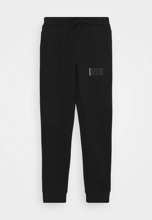 DEAN - Tracksuit bottoms - black