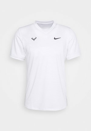 RAFAEL NADAL CHALLENGER - T-shirts med print - white/gridiron
