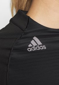 adidas Golf - CLOLDREADY MOCK - Top sdlouhým rukávem - black - 5