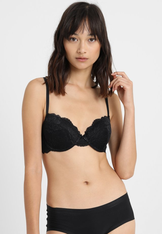 LIANNE BRA - Underwired bra - black