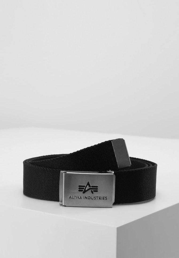 Alpha Industries - BIG A BELT - Belt - black