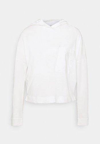 LONGSLEEVE HOODED - Topper langermet - scandinavian white