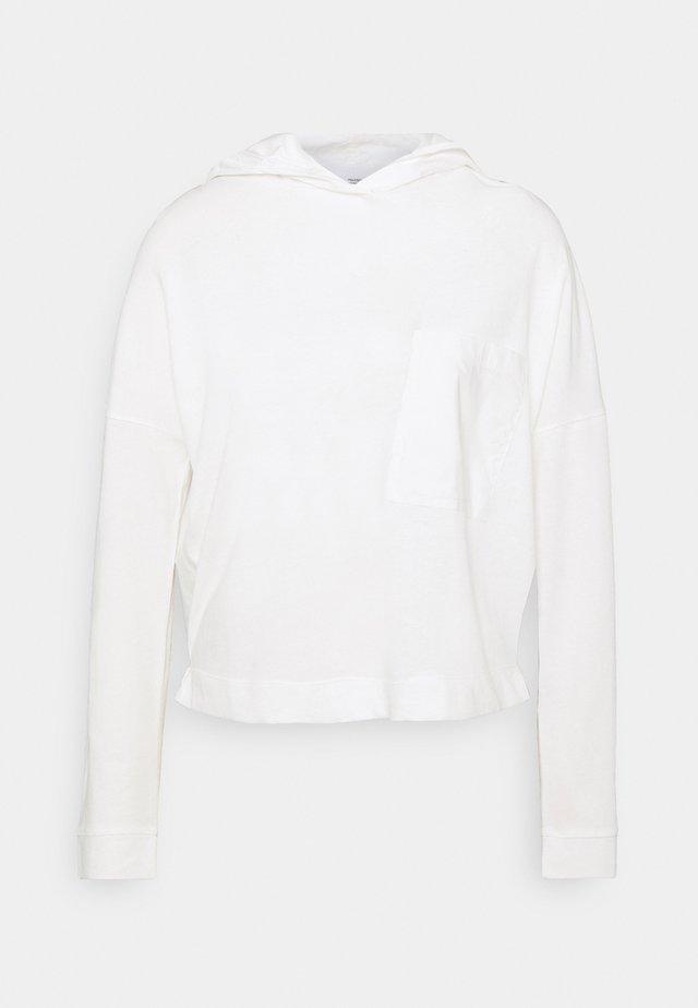 LONGSLEEVE HOODED - Maglietta a manica lunga - scandinavian white