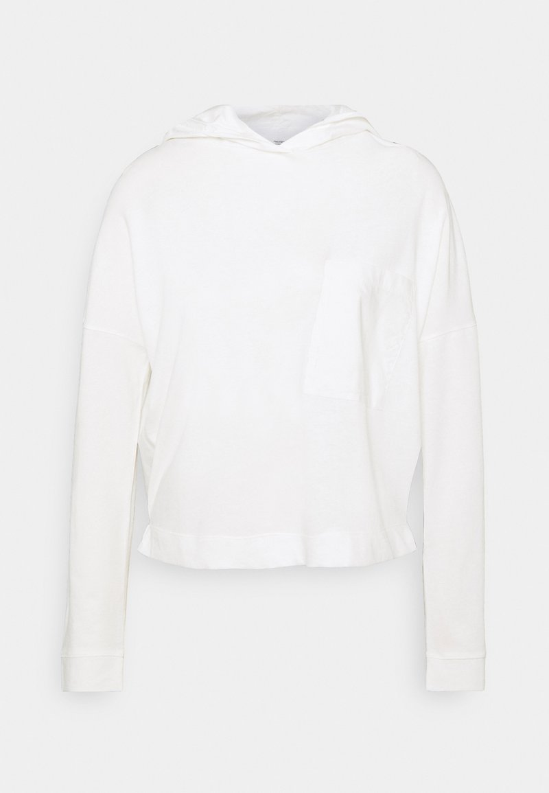 Marc O'Polo DENIM - LONGSLEEVE HOODED - Long sleeved top - scandinavian white