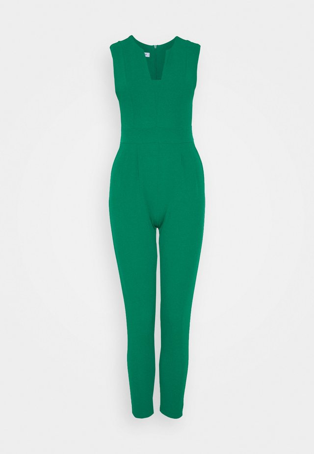 Jumpsuit - leaf green