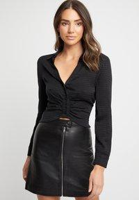 Kookai - Button-down blouse - noir - 0