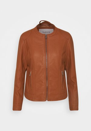 ACOM - Faux leather jacket - brown