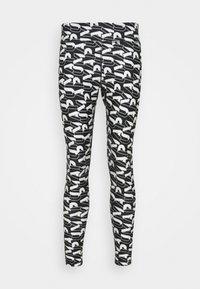 MODERN SPORTS - Leggings - black/white