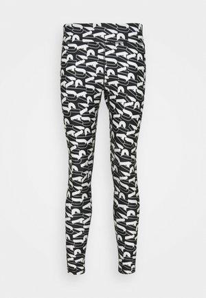 MODERN SPORTS - Collants - black/white