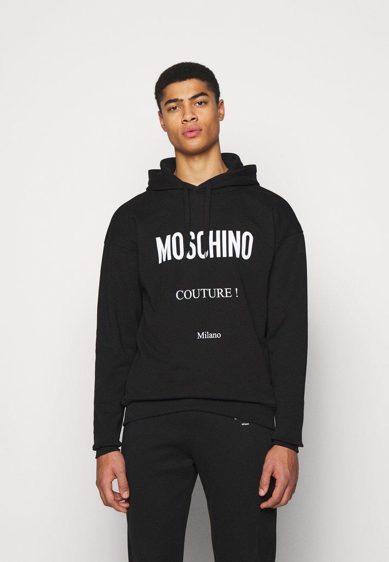 MOSCHINO - Hoodie - black