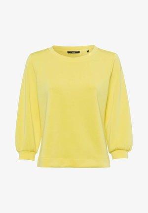 Sweatshirt - yellow lime
