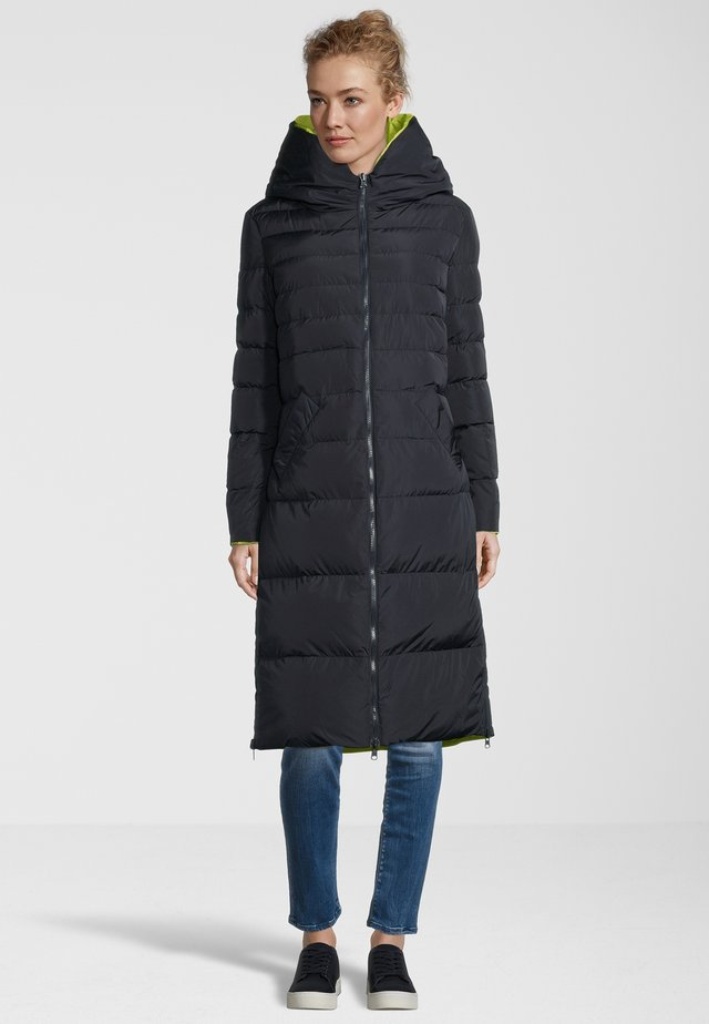 KEILA - Cappotto invernale - navy/lime