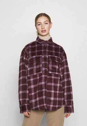 BENNIE - Button-down blouse - winterwine