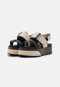 MAX&Co. - HARBOUR - Platform sandals - beige - 2