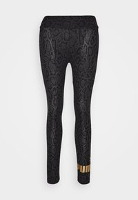 Puma - LEGGINGS - Medias - black - 4