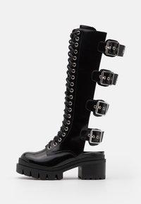 Jeffrey Campbell - TANK GIRL - Lace-up boots - black box - 1