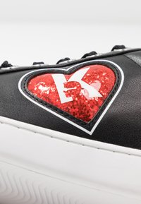 KARL LAGERFELD - KUPSOLE II K-LOVE LACE - Trainers - black/red - 2