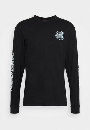 UNISEX ERMSY TWISTED HAND - Long sleeved top - black