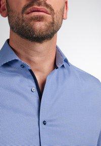Eterna - LANGARM MODERN FIT - Shirt - blau - 2