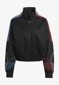 adidas Originals - ADICOLOR TRICOLOR TREFOIL PRIMEBLUE TRACK TOP - Training jacket - black - 6