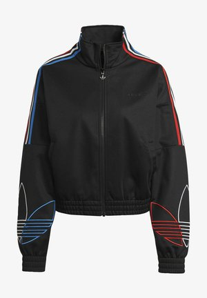ADICOLOR TRICOLOR TREFOIL PRIMEBLUE TRACK TOP - Training jacket - black