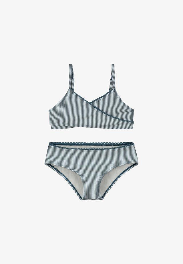 SET - Bikinibroekje - patagonia blue