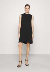 Emporio Armani - Žerzejové šaty - black - 0