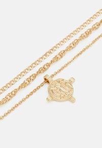 Pieces - PCVILLA COMBI NECKLACE - Necklace - gold-coloured - 2