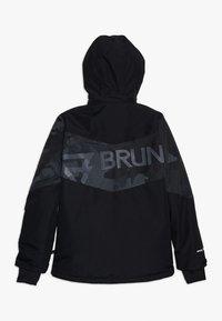 Brunotti - DAKOTO BOYS SNOWJACKET - Snowboard jacket - black - 1