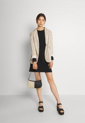 2 PACK - Jersey dress - black/multi-coloured